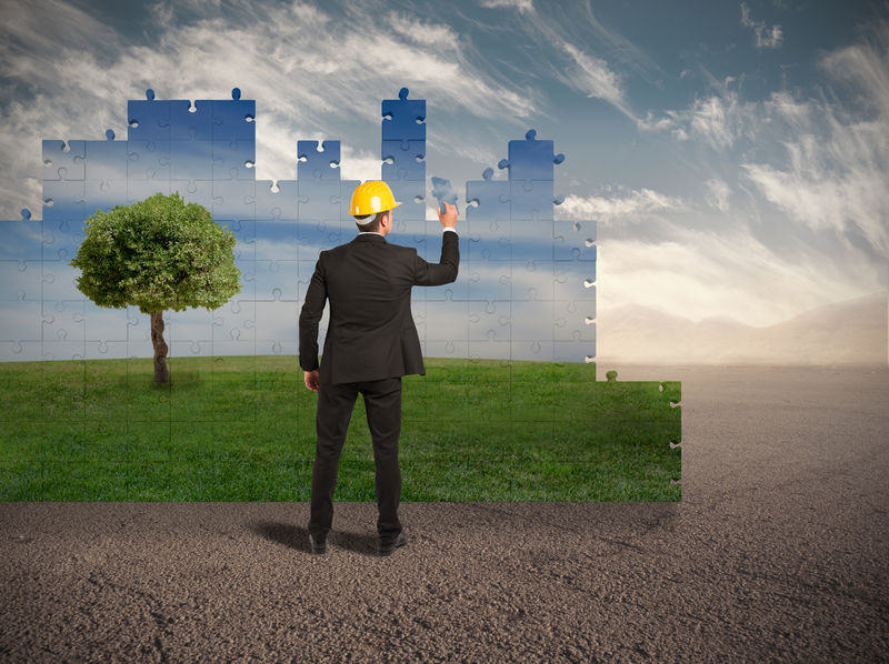 bouw bouwplan omgeving